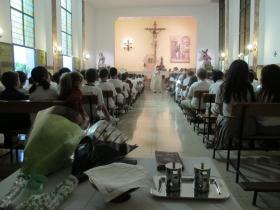 Eucaristía inicio de curso 2016/2017 - COLEGIO JESÚS NAZARENO