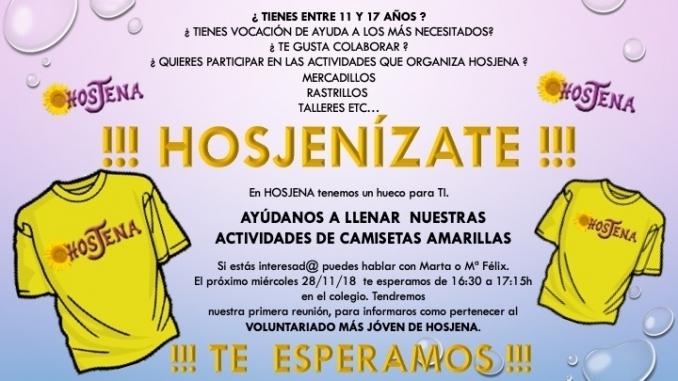 ¡¡¡ HOSJENíZATE !!! - COLEGIO JESÚS NAZARENO