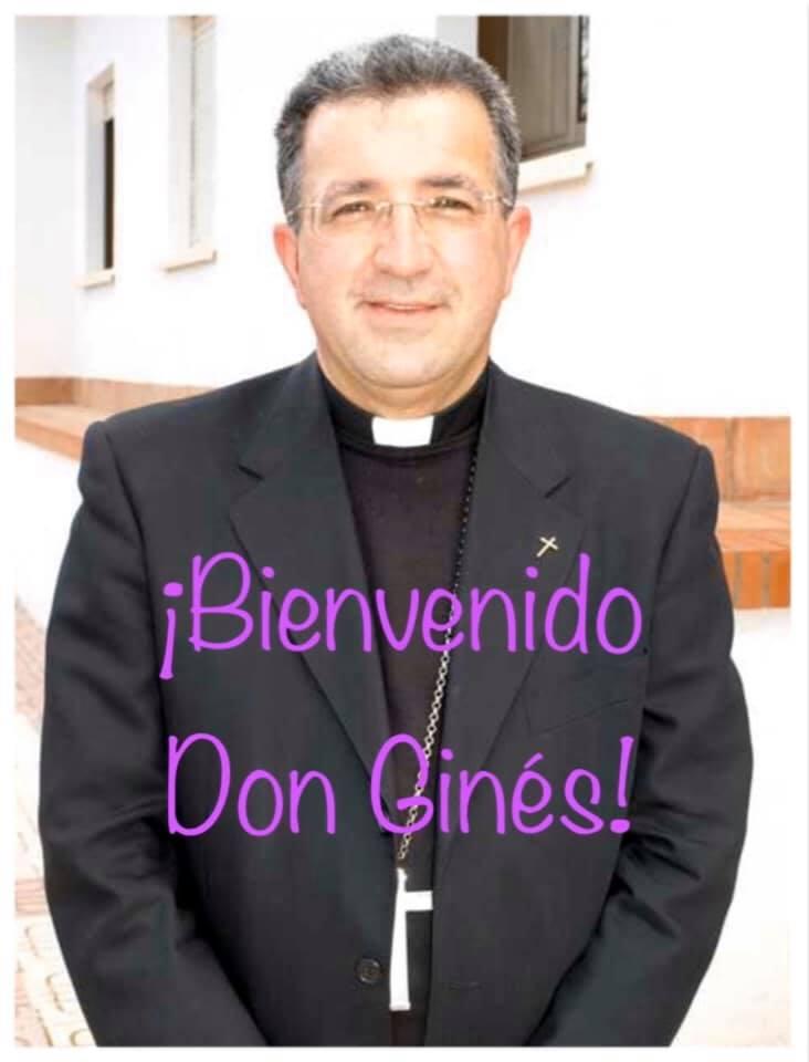 Visita del Obispo Don Ginés García Beltrán